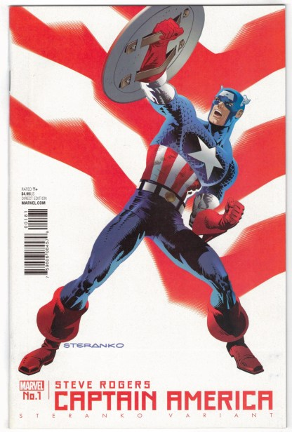 Captain America Steve Rogers #1 Jim Steranko Variant 1st Print Marvel VF/NM