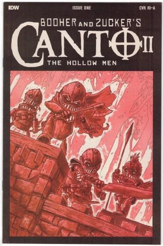 Canto II Hollow Men #1 1:10 Ben Bishop Variant TMNT Homage VF/NM