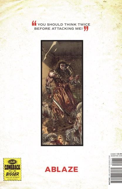 Cimmerian People of Black Circle #1 1:10 Mirka Andolfo Virgin Variant Ablaze