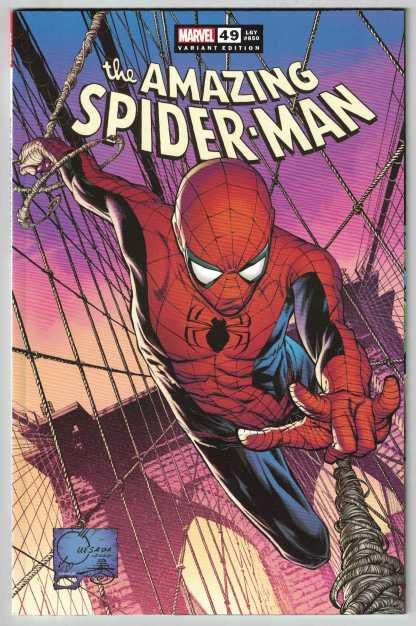 Amazing Spider-Man #49 1:50 Joe Quesada Variant Marvel 2018 Legacy #850 VF/NM