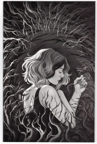 Buffy the Vampire Slayer Willow #4 1:10 Jen Bartel B&W Variant BTVS VF/NM