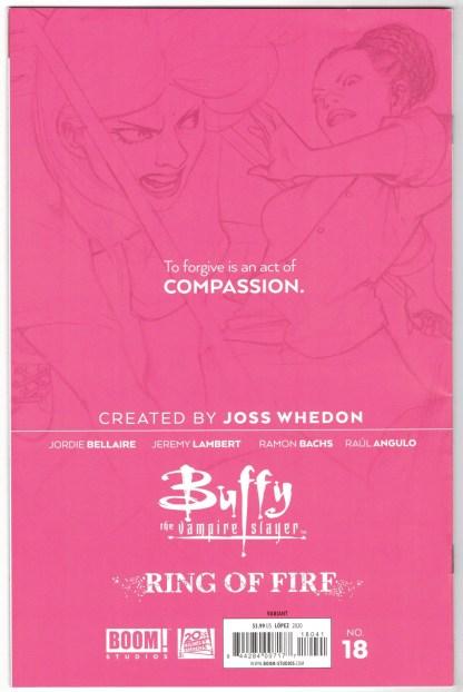 Buffy the Vampire Slayer #18 1:25 David Lopez Sketch Variant Boom 2019 VF/NM