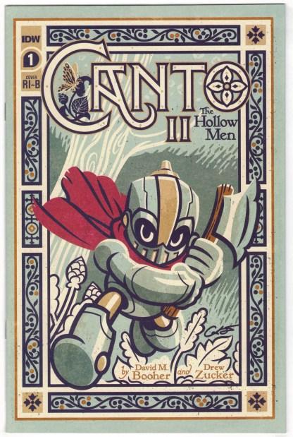 Canto II Hollow Men #1 1:25 George Caltsoudas Variant IDW 2020 VF/NM