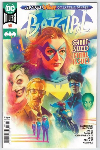 Batgirl #50 Middleton 1st Print CVR A DC 2016 1st Appearance Ryan Wilder VF/NM