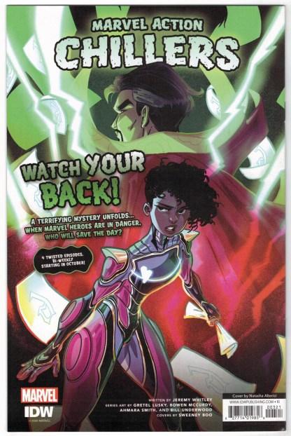 Canto II Hollow Men #3 1:10 Natasha Alterici RI Variant IDW 2020 VF/NM
