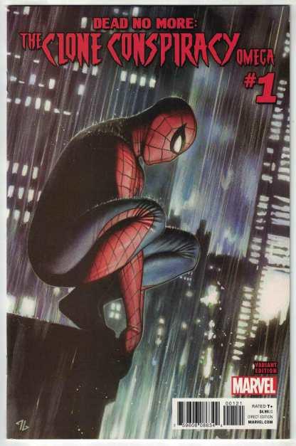 The Clone Conspiracy Omega #1 Dead No More Adi Granov Variant Marvel 2017 VF/NM
