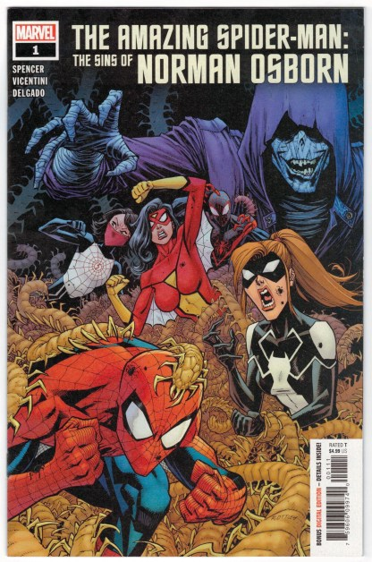 Amazing Spider-Man Sins of Norman Osborne #1 Ryan Ottley A Cover 2020 VF/NM