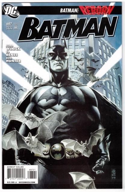 Batman #687 1:10 JG Jones Variant DC Reborn VF/NM