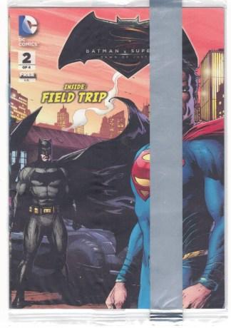Batman v Superman Dawn of Justice Field Trip #2 of 4 Sealed DC 2016 VF/NM