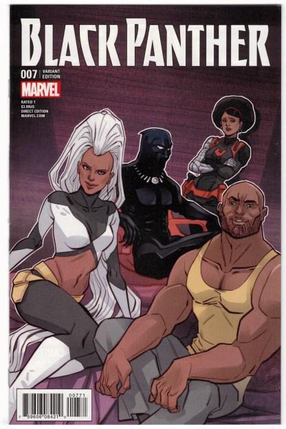 Black Panther #7 1:25 Marguerite Sauvage Variant Marvel 2016 VF/NM