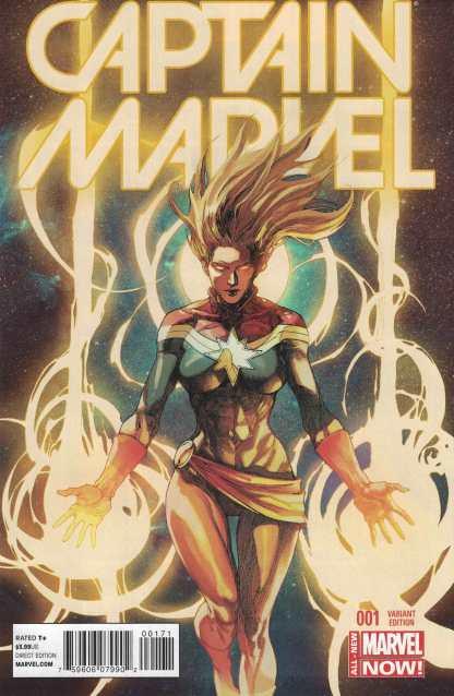Captain Marvel #1 Lenil Francis Yu Variant Marvel ANMN 2014