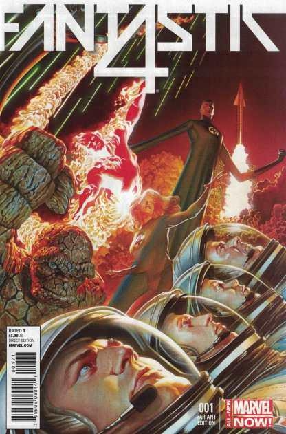 Fantastic Four #1 1:75 Alex Ross Color Variant Marvel ANMN 2014