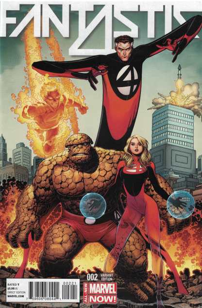 Fantastic Four #2 1:50 Art Adams Variant Marvel ANMN 2014