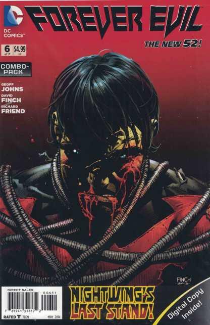 Forever Evil #6 Combo Pack Variant New Sealed DC New 52 2013