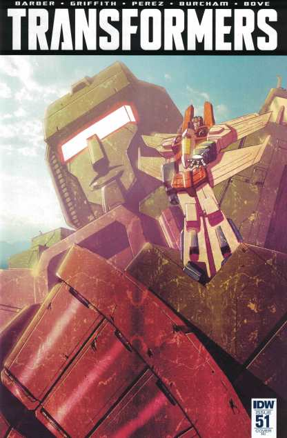 Transformers #51 1:10 Retailer Incentive Variant RI IDW Ongoing