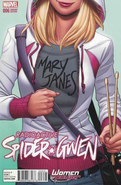 Spider-Gwen #6 Lupacchino Women of Power Variant WOP Marvel 2015 ANAD
