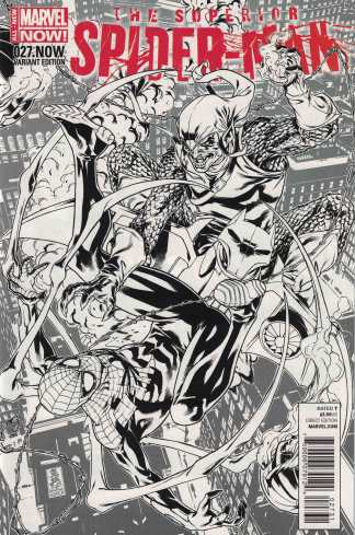 Superior Spider-Man #27 1:100 Mark Brooks Sketch Variant Marvel NOW 2013