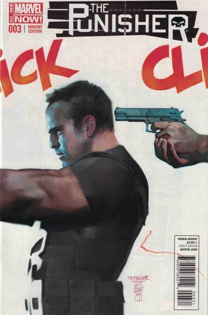 Punisher #3 1:50 Alex Maleev Variant Marvel ANMN 2014 HTF Rare