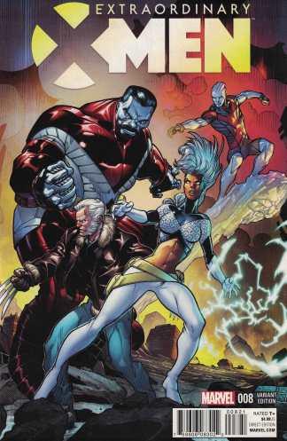 Extraordinary X-Men #8 1:15 Stroman Classic Variant Marvel ANAD 2015