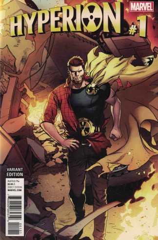 Hyperion #1 1:25 Lupacchino Variant Marvel 2016 ANAD