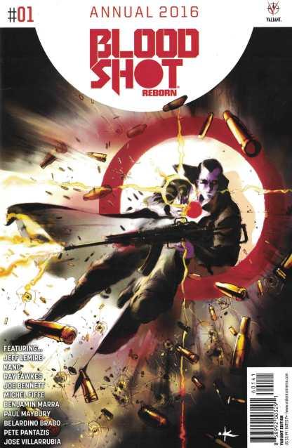 Bloodshot Reborn Annual #1 1:20 Grant Variant Cover D Valiant 2016