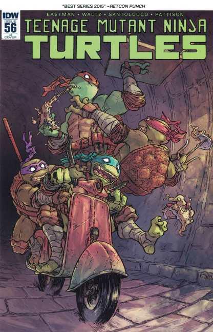 Teenage Mutant Ninja Turtles #56 1:10 Retailer Incentive Variant RI IDW TMNT
