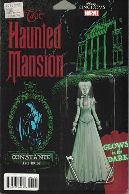 Haunted Mansion #1 Action Figure Variant Disney Kingdoms Marvel Comics 2016