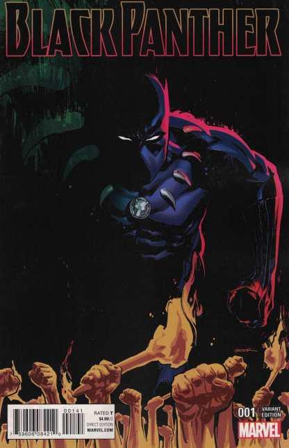 Black Panther #1 1:25 Ryan Sook Variant Marvel ANAD 2016
