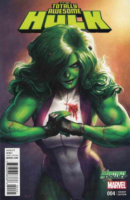 Totally Awesome Hulk #4 Women of Power Variant Marvel ANAD 2015 WOP