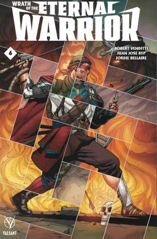 Wrath of the Eternal Warrior #6 1:20 Perez Variant Cover C Valiant 2015