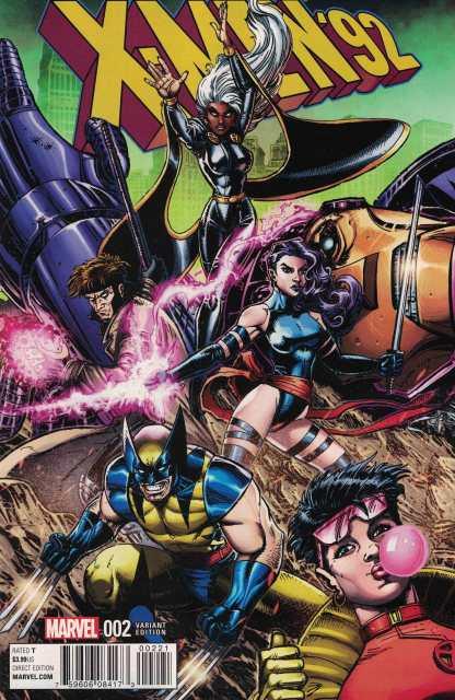 X-Men 92 #2 1:25 Joyce Chin Variant Marvel ANAD 2016