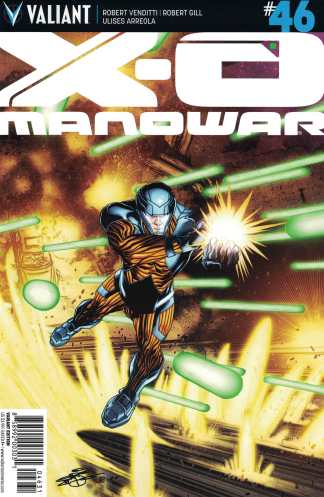 X-O Manowar #46 1:20 Chriscross Variant Cover C Valiant