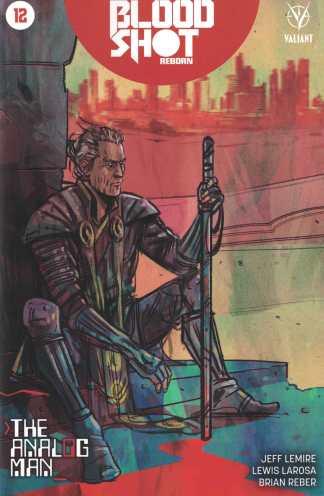 Bloodshot Reborn #12 1:10 Tula Lotay Variant Cover D Valiant 2015