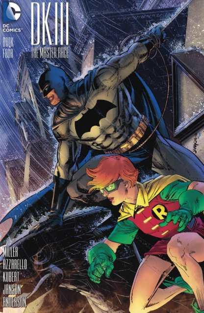 Dark Knight III Master Race #4 1:25 Janson Batman DK3 Variant DC 2015