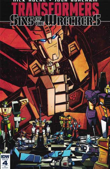 Transformers Sins of the Wreckers #4 1:10 Retailer Incentive Variant RI IDW