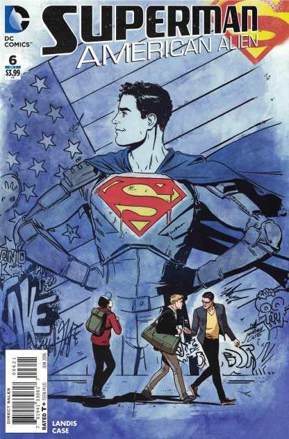 Superman America Alien #6 1:25 Case Variant DC Comics 2015 HTF Rare