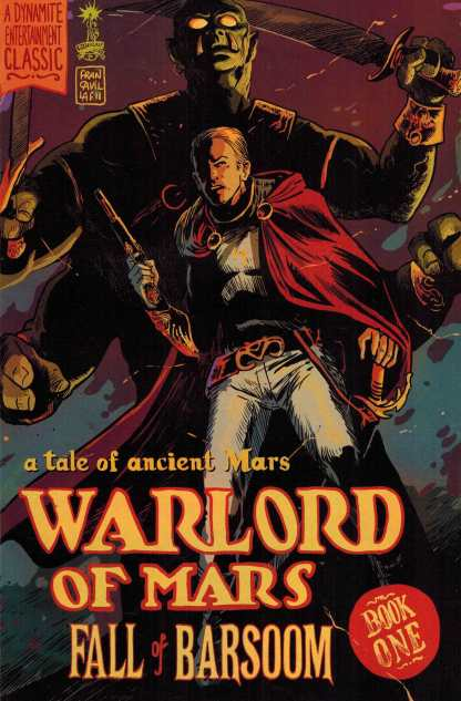 Warlord of Mars Fall of Barsoom #1 1:10 Francesco Francavilla Variant Dynamite John Carter