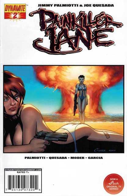 Painkiller Jaine #1 Amanda Conner Red Foil Variant LTD to 200 w/COA 2007 Dynamite