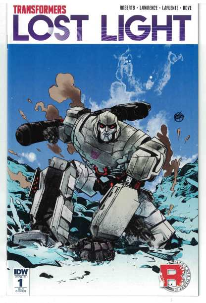 Transformers Lost Light #1 1:50 Paul Rope Incentive Variant RI-C IDW 2016 VF/NM