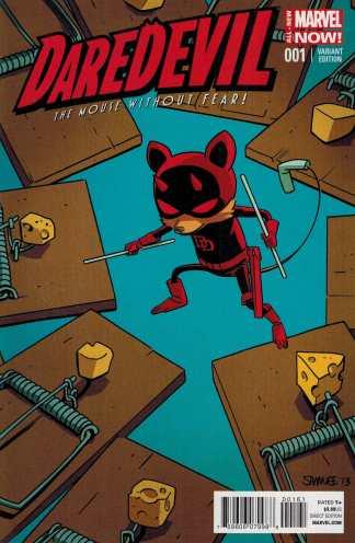 Daredevil #1 Chris Samnee Animal Variant ANMN All New Marvel Now