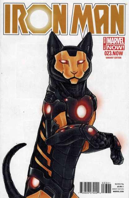 Iron Man #23 NOW Jenny Parks Animal Variant