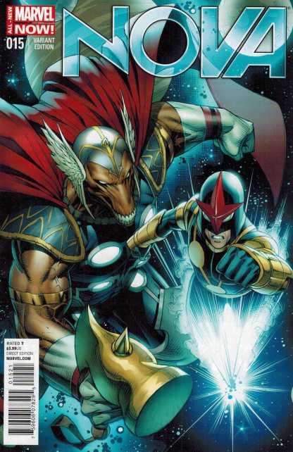 Nova #15 1:50 Dale Keown Variant Marvel NOW Beta Ray Bill