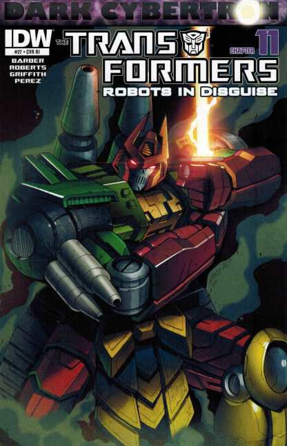 Transformers Robots in Disguise #27 Retailer Incentive Variant RI
