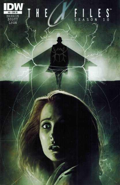 X-Files Season 10 #19 1:10 Retailer Incentive Variant Cover RI