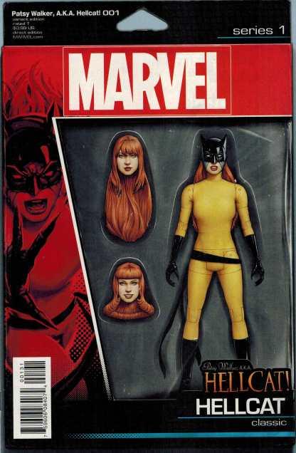 Patsy Walker AKA Hellcat #1 Christopher Action Figure Variant Marvel ANAD 2015