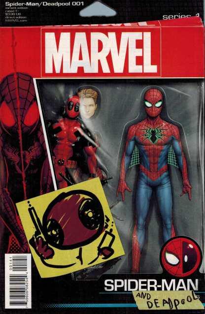 Spider-Man Deadpool #1 Christopher Action Figure Variant Marvel 2016 ANAD