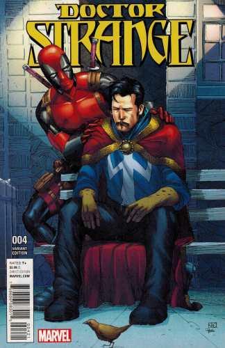Doctor Strange #4 1:10 Koi Pham Deadpool Variant Marvel ANAD 2015