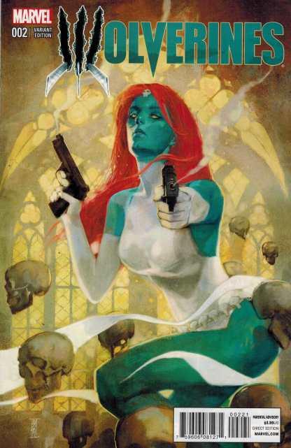 Wolverines #2 1:25 Maleev Variant Mystique 2015 Charles Soule