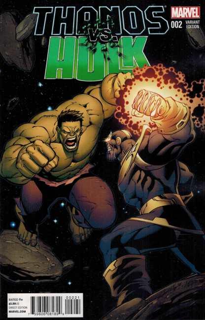 Thanos vs Hulk #2 1:25 Ron Lim Variant