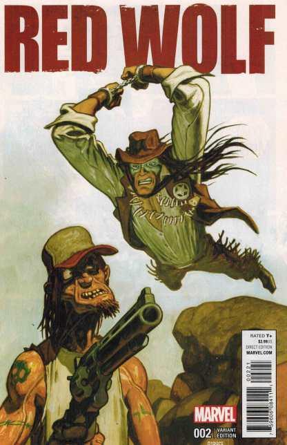 Red Wolf #2 1:25 Garres Variant Marvel ANAD 2015 1872